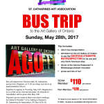 May Bus Trip to the AGO and Astoria