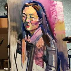 October 2018 - Painting Demonstration with Geoff Farnsworth
