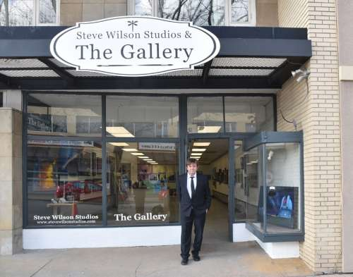 Official Opening for Steve Wilson Studios and The Gallery