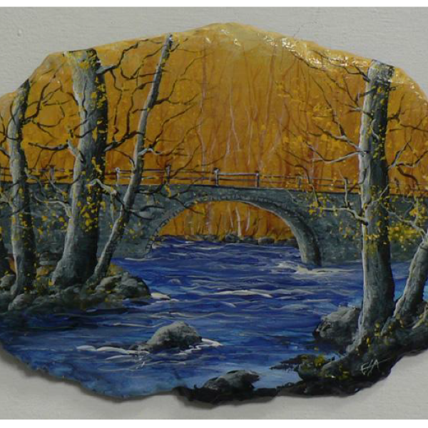 """Manitoulin Bridge"" 1-Day Creative Painting Workshop"