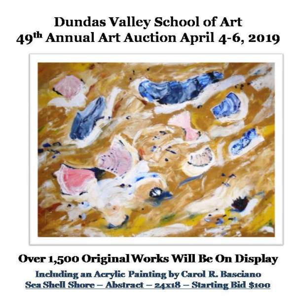 DVSA Annual Art Auction, 2019