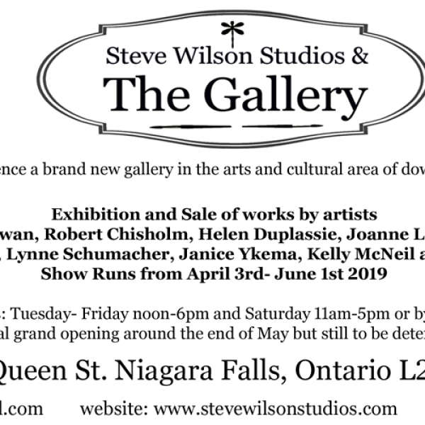 Steve Wilson Studios and The Gallery - Rental Availability