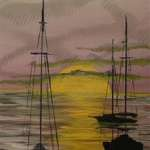 Sleeping Sailboats