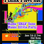 "Cancelled - ""I Think I Love Hue"" Music Trivia Party"