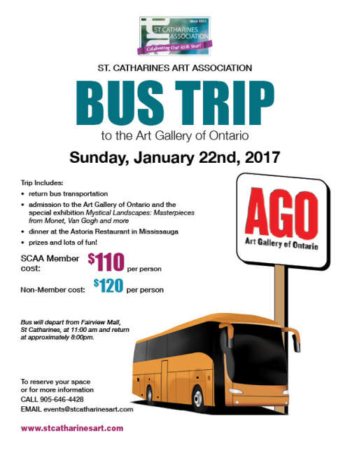 SCAA Bus Trip to the AGO