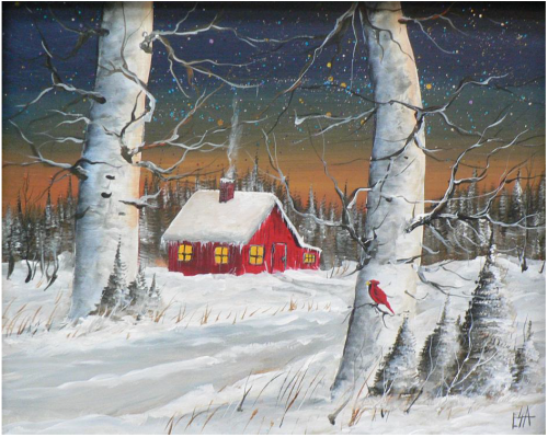 """Coming Home "" 1-Day Creative Painting Workshop"