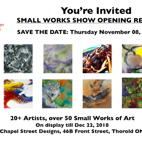 Small Works Show and Opening Reception