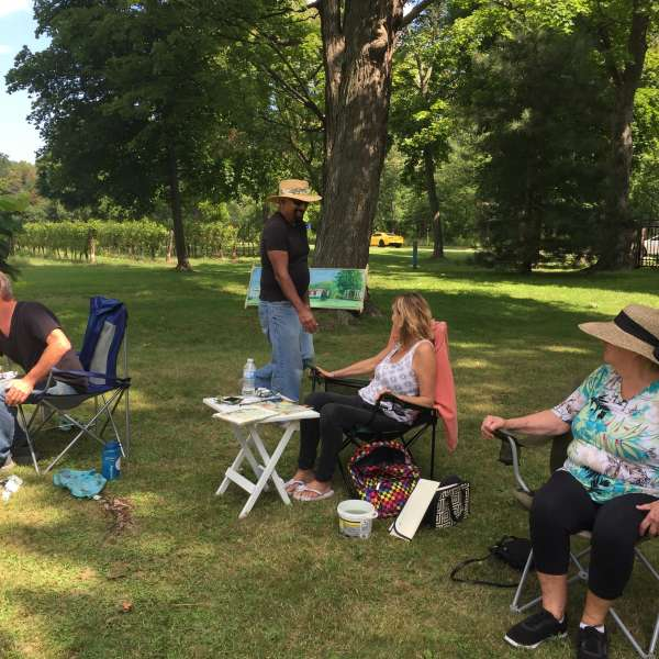 En Plein Air Paint and Potluck Lunch
