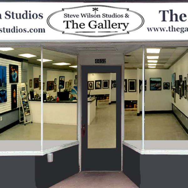 New Location for Steve Wilson Studios and The Gallery